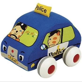 Carrinho de Fricção - Carro de Policia Mimi - Ks Kids