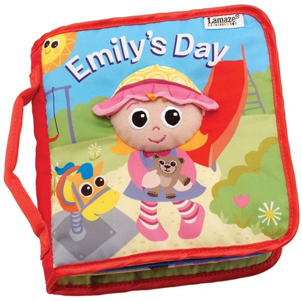 Livro Emily - brinquedo de bebê - Lamaze