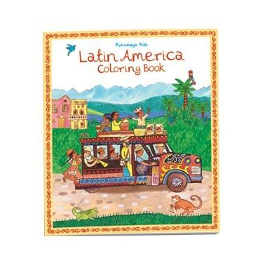 Livro para colorir America Latina – Putumayo