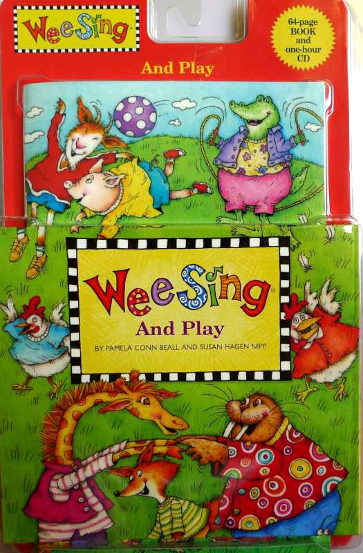 Wee sing - and play CD e livro