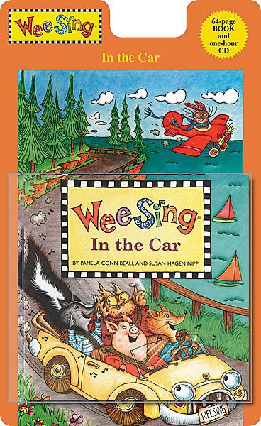 Wee sing - in the car CD e livro