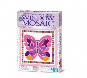 Kit de Mini Mosaico de Janela Borboleta - 4M