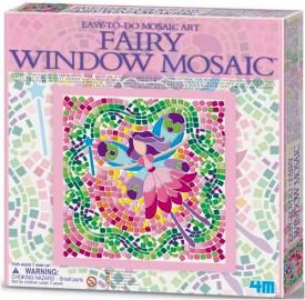 Kit de Mosaico de Janela - Fada - 4M
