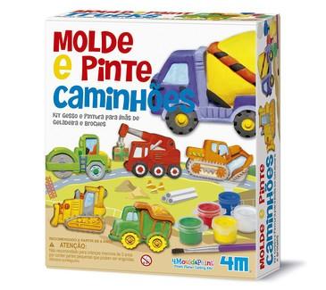 Molde e Pinte Caminhões  - 4M