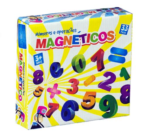 Números e Operações Magnéticos - Bate Bumbo