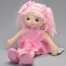 Boneca de pano - Bailarina Glitter - Rosa P - Buba