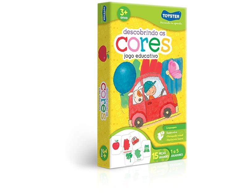 Jogo Educativo Descobrindo as Cores - Toyster