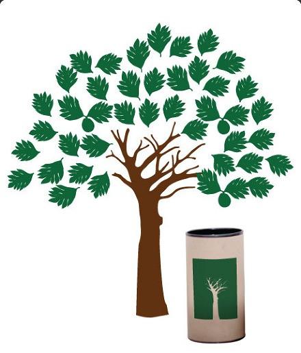 Adesivos Árvore Decorativo, Fruta Pão - Lorota