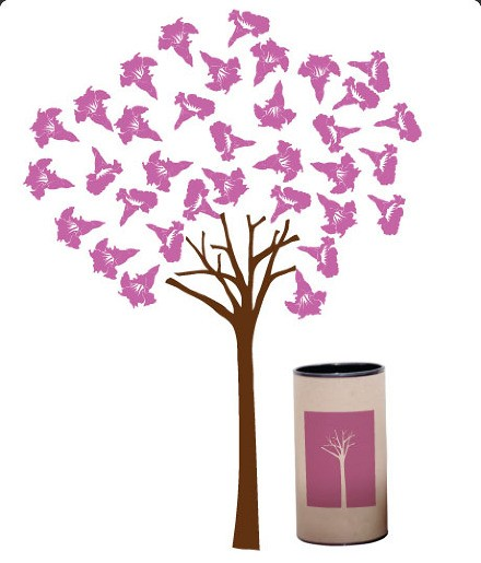 Adesivos Árvore Decorativo, Ipê - Lorota
