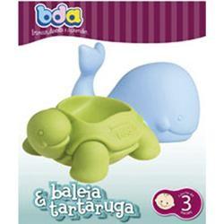 Baleia e tartaruga - Brinquedo de Banho - Bda
