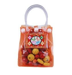 Bolsa de miçangas média - Laranja - Bead Bazaar