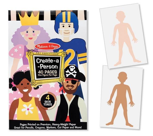 Caderno de Atividades - Criando Pessoas - Melissa & Doug