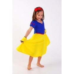 Camisola Princesa Royal - Branca de Neve - 4 anos - Lé com Cré