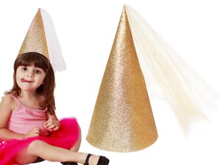 Chapéu Princesa Dourado - A farofa