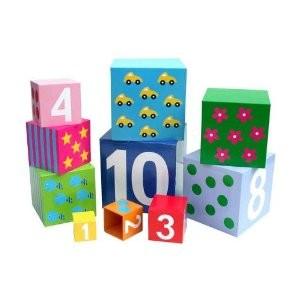Cubos Educativos 1 A 10 - Jabadabado