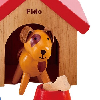 Familia Pet - Gato Cachorro e Coelho - Family Pet Set - HAPE