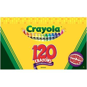 Giz de Cera - 120 Cores - Contém Surpresa - Crayola