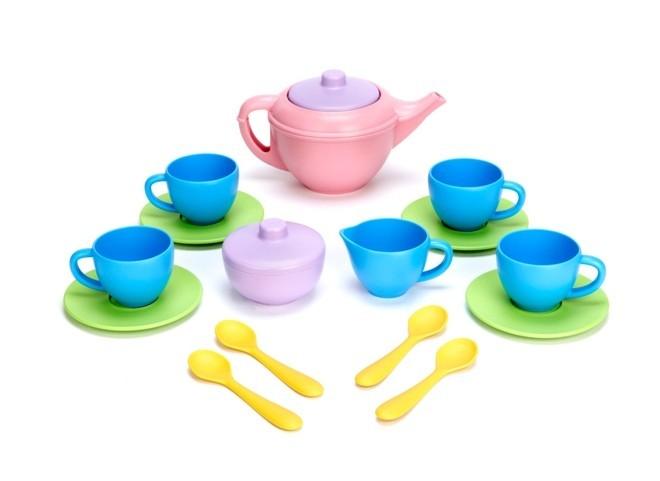 Jogo de Chá, Tea set, 100% Reciclado - Green Toys
