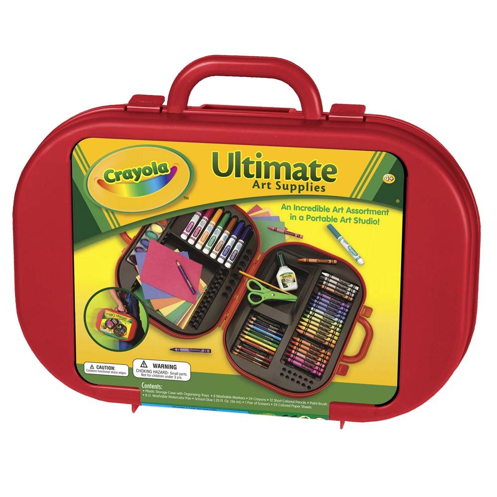 Maleta do Artista Kit Art Supply Case, 81 peças - Crayola