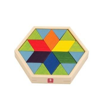 Mini Mosaico, Quebra Cabeça - MIxed Puzzle - HAPE
