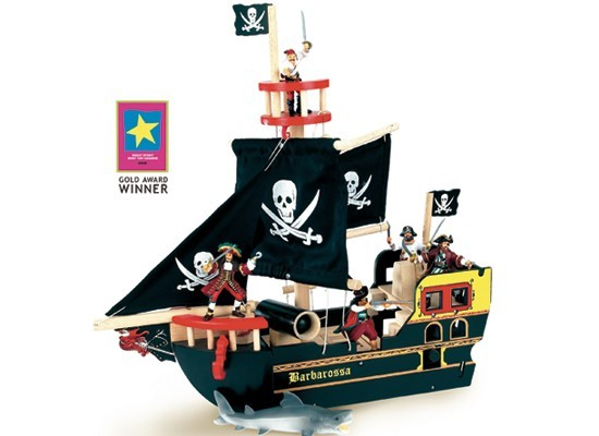 Navio Pirata Barbarossa - Le Toy Van