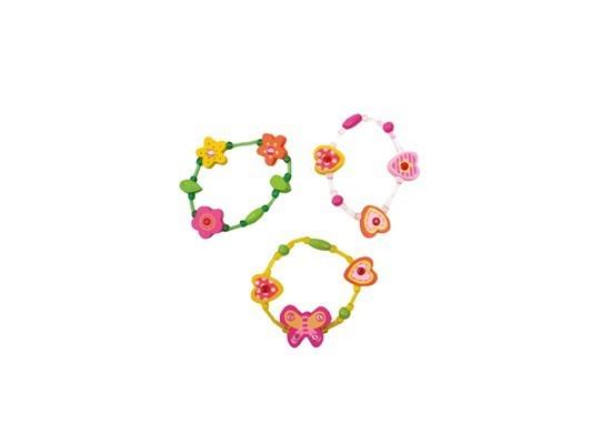 Pulseira infantil flores divertidas – Jabadabado