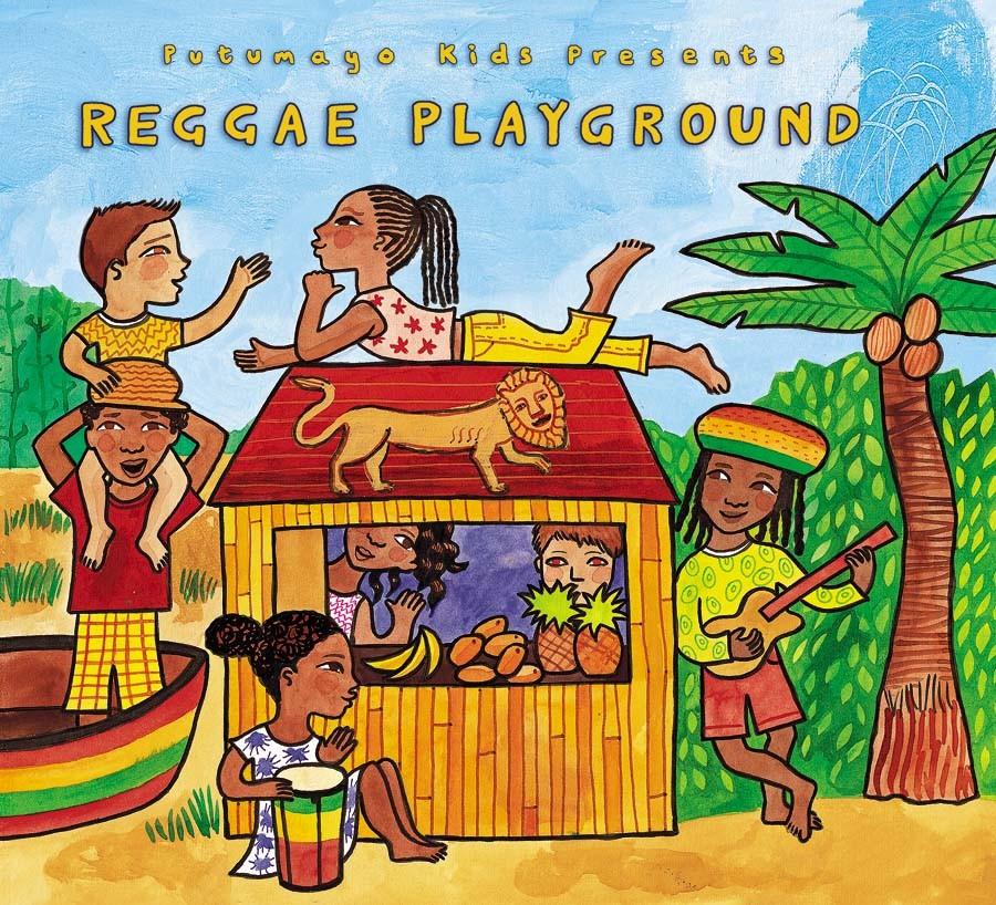 CD Reggae Playground - Putumayo