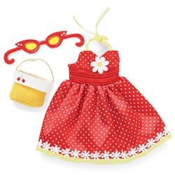 Roupinha Groovy Girls Fashions Red She Said