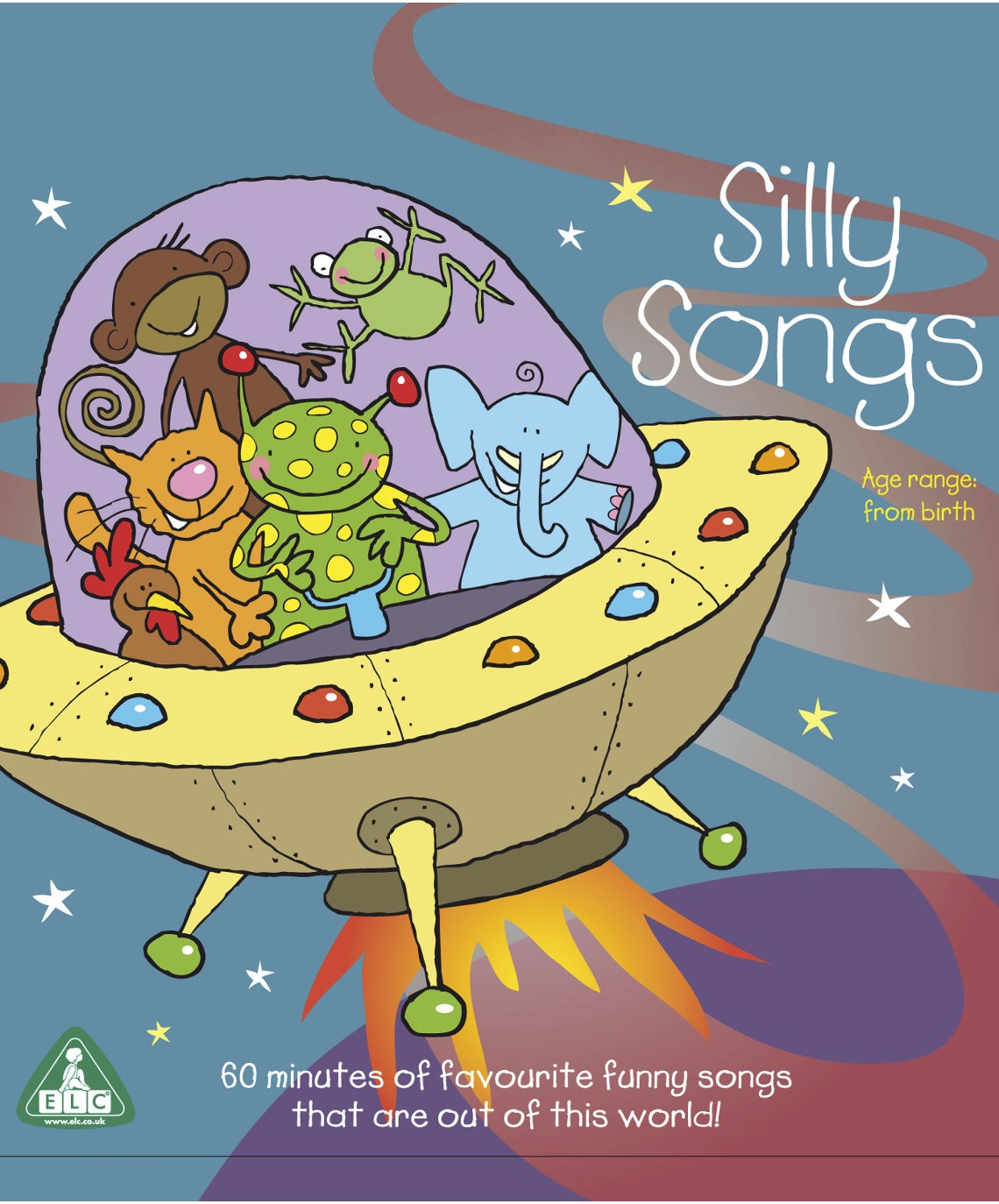 Silly Songs CD - Músicas para aprender inglês se divertindo - Early Learning Center