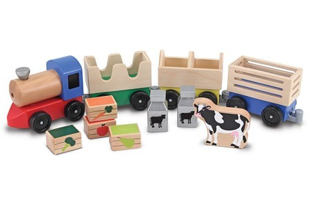 Trem de Madeira - Melissa and Doug