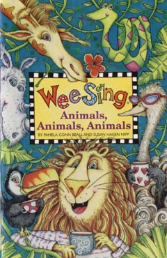 Wee sing - animals, animals, animals CD e livro