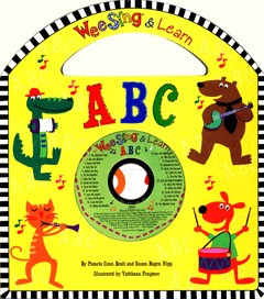 Wee sing and learn ABC - livro cartonado com CD