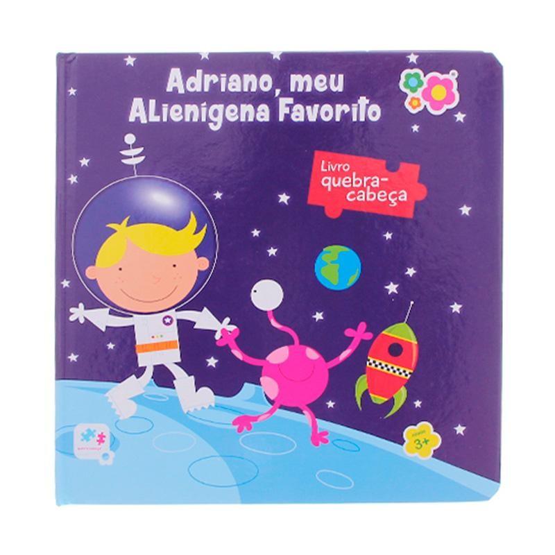 Livro Quebra-Cabeça Adriano Meu Alienígena Favorito - Dican