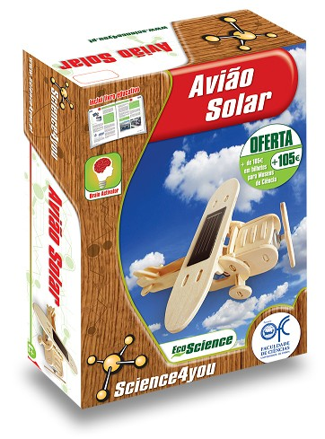 Avião Solar - Science4you