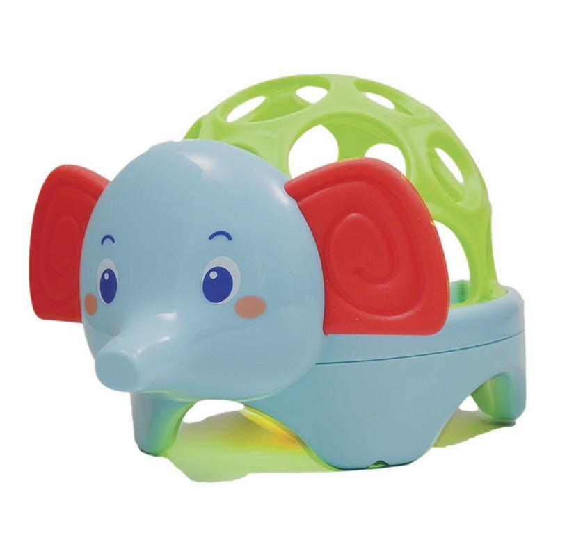 Baby animal com Luz e som - Elefante - para Bebê - Buba