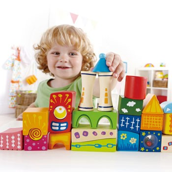 Blocos Castelo da Fantasia, Fantasy Castle Blocks - HAPE