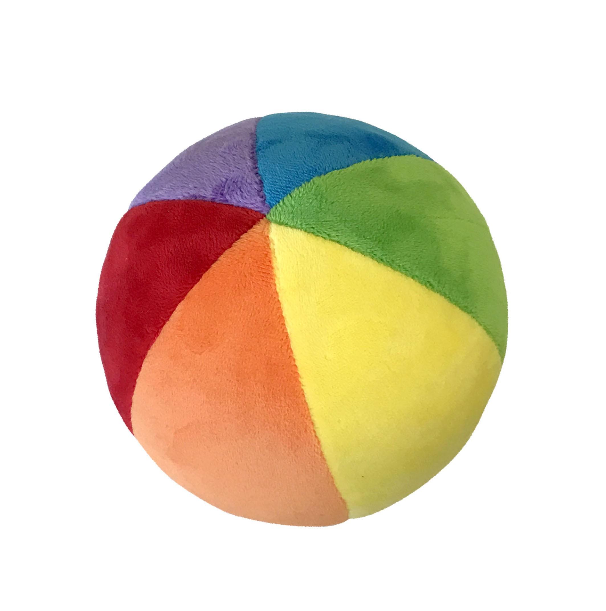 Bola Plush - com Guizo - Brinquedo para Bebê - Buba