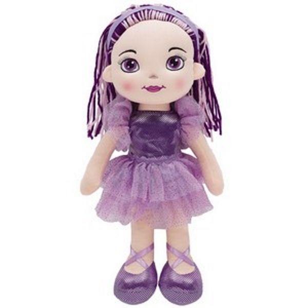Boneca de Pano Bailarina Fashion - Lilas - Buba