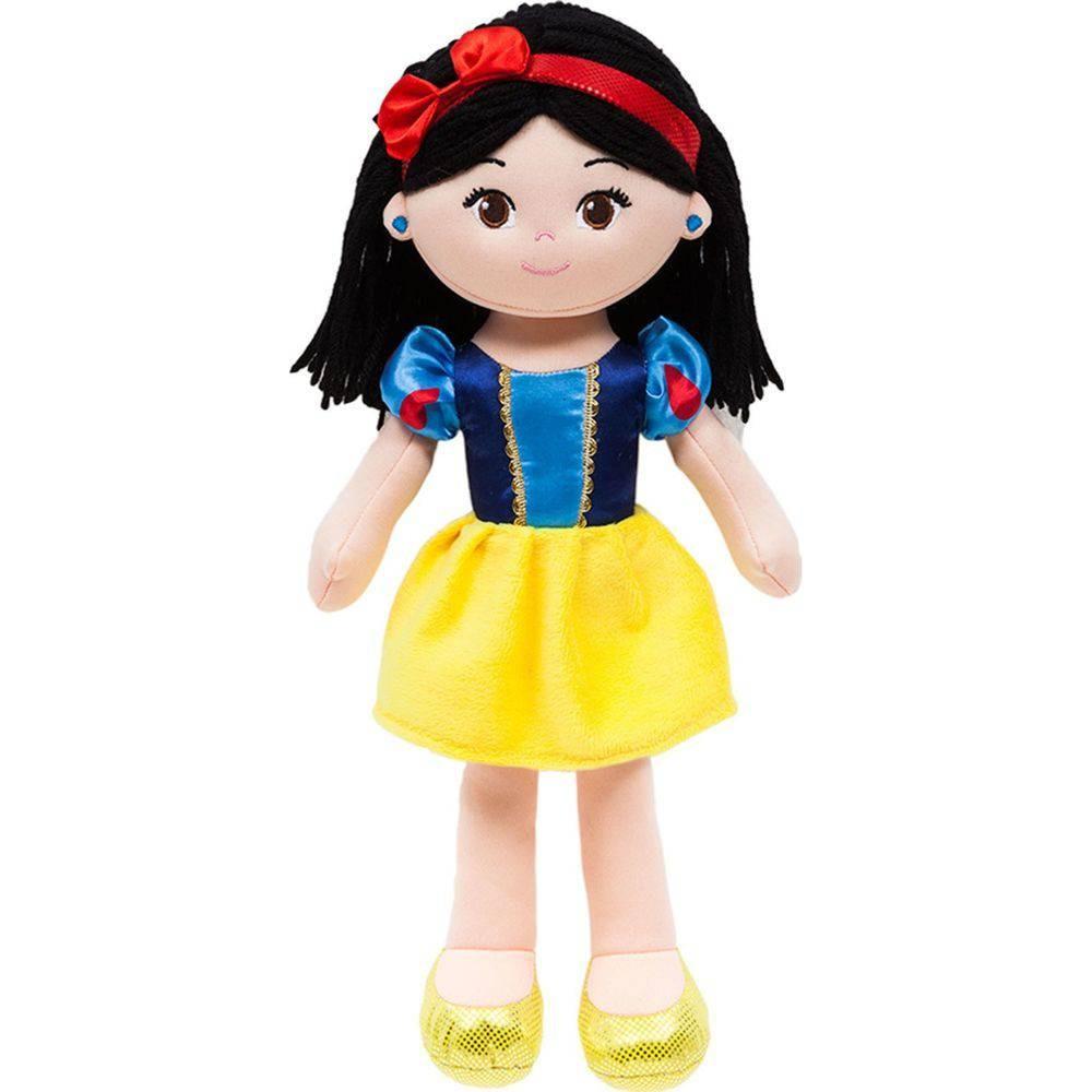Boneca de Pano Princesa Branca de Neve - Buba