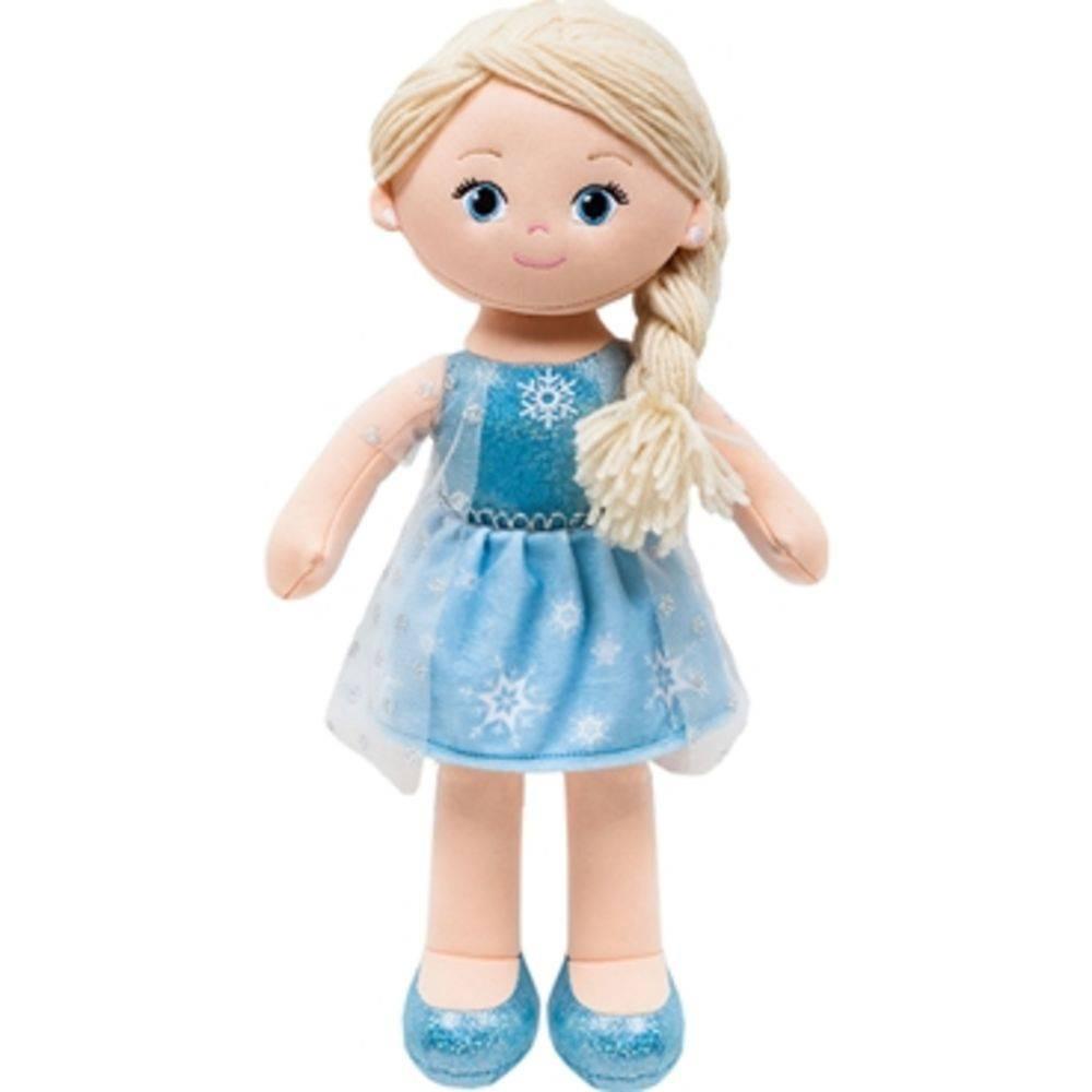 Boneca de Pano Princesa Elsa - Buba