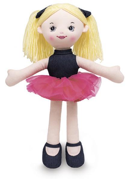Boneca de pano - Jeans Ballet - Buba