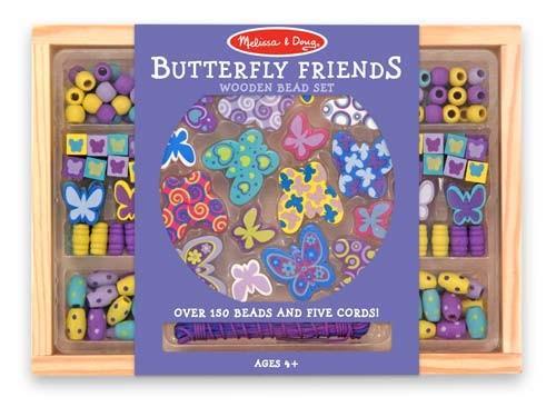 Brinquedo construindo Jóias - Borboletas - Melissa & Doug