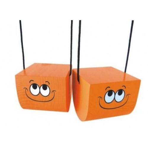 Brinquedo Equilibrista Grande Laranja-  New Art Toys
