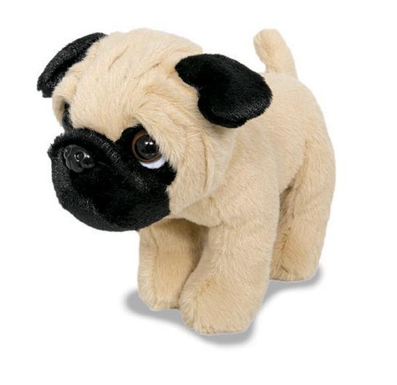 Cachorrinho Pug - Em Pé - Mini Pug - Buba