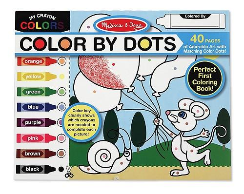 Caderno de Atividades - Colorindo com Pontos -  Melissa & Doug