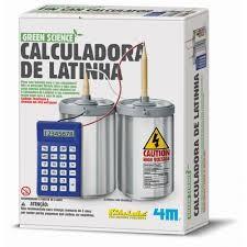 Calculadora de Latinha - brinquedo educativo - 4M