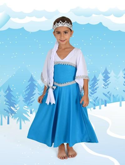 Camisola princesa Kristal - Elsa Frozen - 6 anos - Lé com Cré