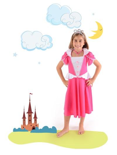 Camisola Princesa Valentina -  6 anos - Lé com Cré