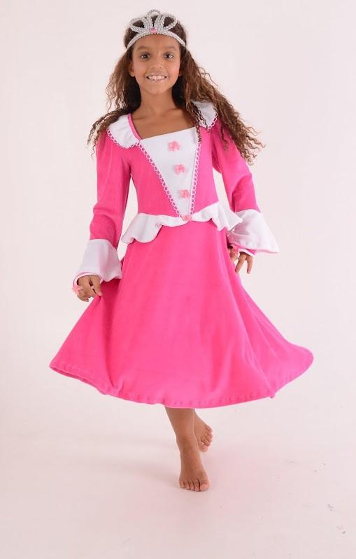 Camisola princesa Valentina inverno - Bela Adormecida - 8 anos - Lé com Cré