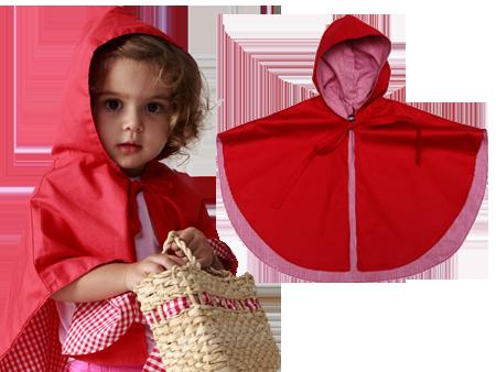 Capa chapeuzinho vermelho tamanho M - A farofa